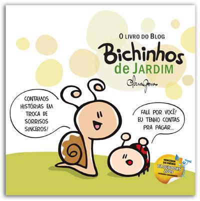 O livro do blog Bichinhos de Jardim - pré-venda